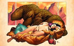 Frank Cho - A princess of Mars
