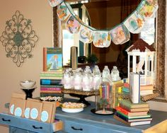 Books and Reading Party [Back to School Party]