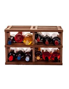"Introducing WineRacks.com Exclusive Wine Stacks!  Wine Stacks come fully assembled in 3 different wood species and can be mixed and matched to create your own unique wine storage system.  Stacks are 18 3/4"" wide x 12"" high and 12 3/8"" deep to fully support a wine bottle.  They are made of unfinished solid wood right in our New York factory.  These small bins will hold approximately 3 750ml bottles per bin.  Great for storing splits or odd sizes."