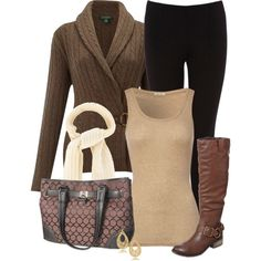 Fall Outfit leopard print scarf