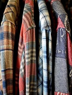 One can never have too many flannels
