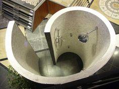 Sleek Bathroom Shower Remodel #Bathroom #Renovation and #Ideas