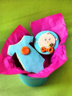 adorable baby shower cookies