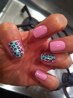 #Leopard #Nails #Manicure