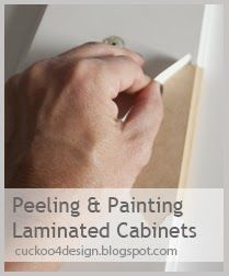 Countertop Paint Peeling : peeling & painting laminated cabinets