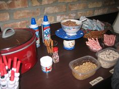 Hot Chocolate Bar #1 for polar express party