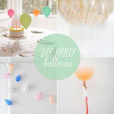 10 DIY Balloon Ideas