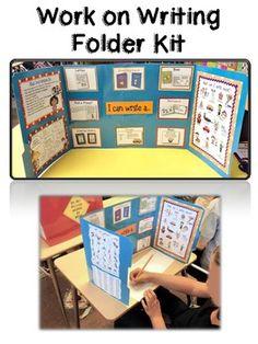 Work on Writing Folder Kit