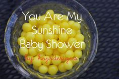 you are my sunshine baby shower & sewing tutorials!