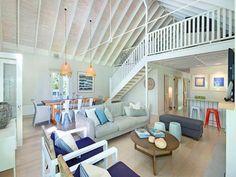 beaches, pearl beach, interior, idea, cottag, lofts, the loft, beach houses, high ceilings
