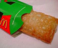 Deep-fried McDonald's apple pie... mmm!!!