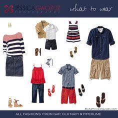 family photo session clothing option