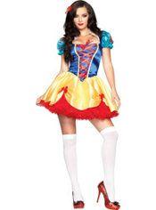 Adult Seductive Snow White Costume, $39.99