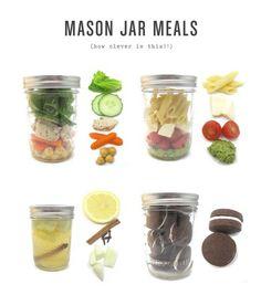 mason jar meal
