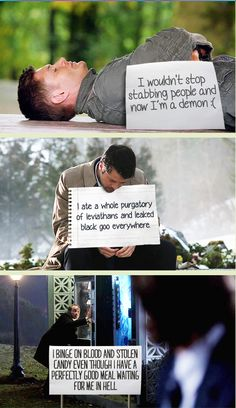 [GIFSET] Pet shaming - Supernatural style. Click through for all the shame.