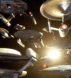 Federation Starships
