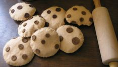 Free Chocolate Chip Cookie Felt Food Tutorial | Flickr - Photo Sharing!
