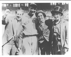 Lou Gehrig and the Marx Brothers