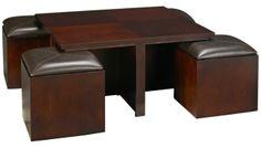 Hammary - Cubics - Square Storage Cocktail Table - Jordan's Furniture