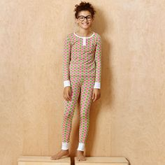 Bedhead Tween Pajamas Le Metro Pink/Green, $58 | Layla Grayce