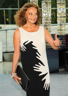 CFDA President Diane Von Furstenberg at the 2012 CFDA Awards
