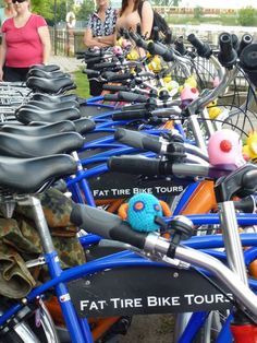 Fat Tire Bike Tours... awesome tour company, did it in Berlin, can't wait to see other cities with this company!