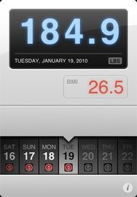 Weightbot. One of my favorite weight tracking apps for iPhone.
