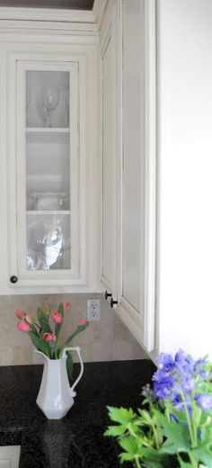 How to add glass to a kitchen cabinet Step by Step tutorial