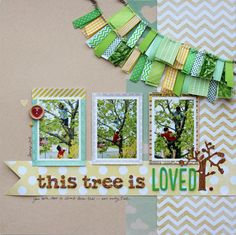 ThisTree by  CindyTobey American Crafts Trims and Ribbons