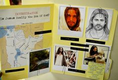 Agency D3 Evidence Folder  -  Put map of Holy Land, picture of Jordan River, Bible Verses, etc. in folder,
