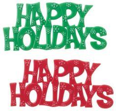 happi holiday, holiday cakes, holiday idea, christma cake, happy holidays, cake toppers