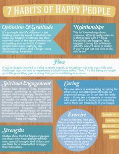 The 7 Habits of #Happy People