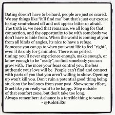 Dating doesn't have to be hard... - @robhillsr- #webstagram
