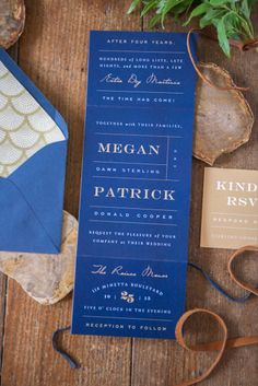 Earthy, elegant wedding invitations: http://www.stylemepretty.com/virginia-weddings/alexandria/2014/09/24/mid-century-glam-wedding-inspiration-with-earthy-details/   Photography: Sweet Root Village - http://sweetrootvillage.com/    Love this color combo!!
