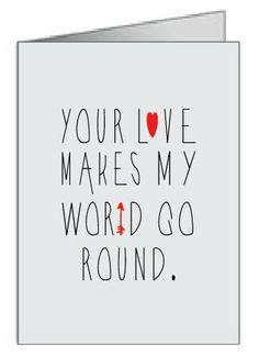 Etsy Valentines card.