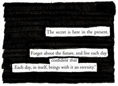 An Eternity - Blackout Poem by Kevin Harrell www.blackoutpoetry.net
