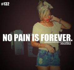 No Pain Is Forever
