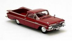 Neo Scale Models 1/43 scale model Chevrolet El Camino in red! £46.99