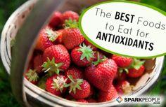antioxid food, strawberries, sparkpeopl