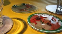 Great gift idea - home made coasters and magnets!