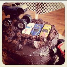 Monster Truck Birthday Cake from www.gograhamgo.com