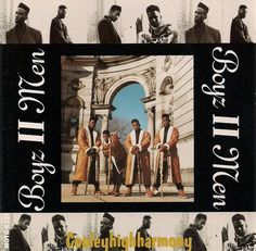 """Boyz II Men / Cooleyhighharmony (1991) - The first album I bought with my own money (on cassette tape!). My parents got me an alarm clock + tape deck for Christmas in 1989 and after filling several blank tapes with songs from one of the local pop stations, I started exploring the selections at the mall music store. I still remember playing """"It's So Hard To Say Goodbye To Yesterday"""" on repeat on my walkman the night before we moved to Korea (late '92)."""