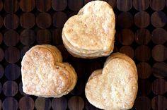 Coconut shortbread cookies.