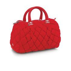 Folli Follie  Fluffy and Red   #follifollie #red #bag