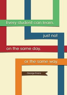 What every teacher and student should keep in mind
