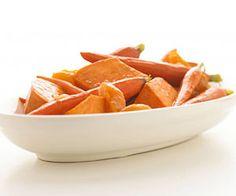 Maple-Orange Sweet Potatoes & Carrots