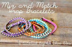 Mix and Match Wrap Bracelets