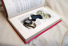 Stash Book - great idea to store your jewelry