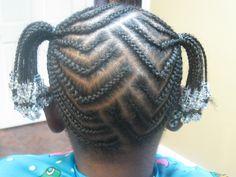 natur hair, style kid, hair style
