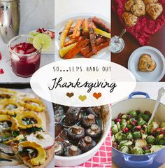 Thanksgiving Recipe ROUND-UP! Tons of healthy, delicious and gluten-free recipes!!